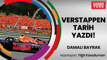 Verstappen tarih yazdı! | DAMALI BAYRAK