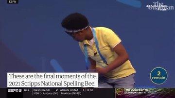 14 yaşındaki Zaila, ABD'nin ulusal yarışmasını ''Murraya''yı heceleyerek kazandı