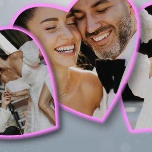 Zeynep Bastık ile Tolga Akış'ın unutulmayacak düğünü!