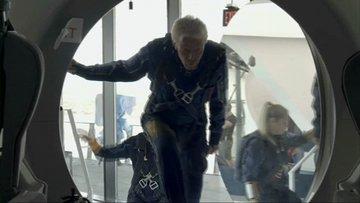 Milyarder Richard Branson uzaya gidiyor!