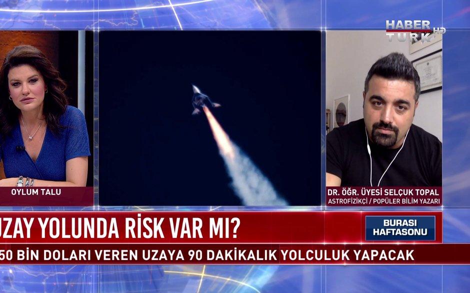 Burası Haftasonu - 11 Temmuz 2021 (Uzay yolunda risk var mı?)