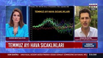 İstanbul'da sıcaklıklar artacak