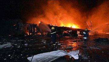 Irak'ta pandemi hastanesinde yangın faciası! Çok sayıda ölü var