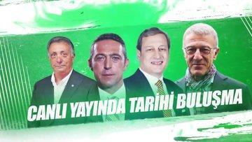 4 büyük kulübün başkanları Habertürk Tv'de bir araya geliyor!
