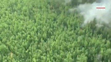 ABD'den sonra Rusya da yangınlara mücadele ediyor!