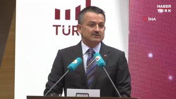 Tarım ve Orman Bakanı Pakdemirli, TOBB Türkiye Ürün İhtisas Borsası Ürün Fiyat Endeksleri lansmanına katıldı
