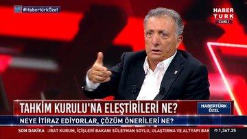 4 büyük kulübün başkanları Habertürk TV'de (2)