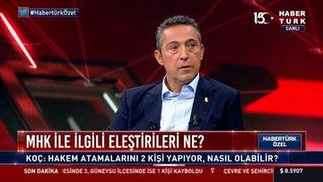 Habertürk TV'de tarihi zirve: 4 büyük kulüp başkanı bir araya geldi (3)