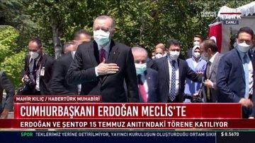 Cumhurbaşkanı Erdoğan Meclis'te