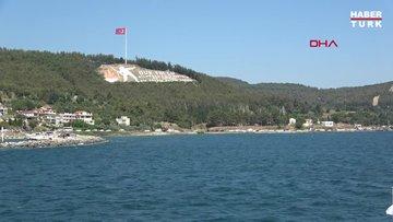 Çanakkale'de, feribot iskelelerinde bayram tatili yoğunluğu