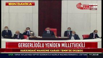 Son dakika haberi Ömer Faruk Gergerlioğlu yeniden milletvekili
