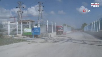 İSKİ'ye ait şantiye alanında iskele devrildi: 3 işçi ağır yaralandı
