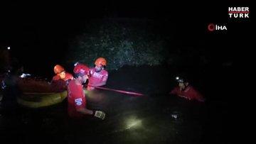 Kanyon'da ayağı kaydı, 4 saat süren operasyonla kurtarıldı