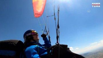 Merve Gülşah Arslan'dan uçuş rekoru