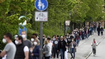 Almanya'da 100 bin vaka uyarısı!