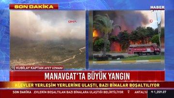 Manavgat'ta 4 noktada yangın! Mahalleler tahliye ediliyor