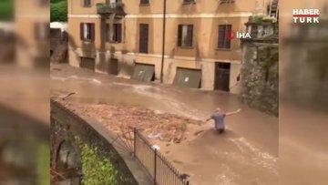 İtalya'da sel ve toprak kayması!