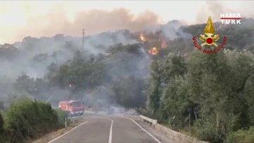Güney Avrupa da yanıyor