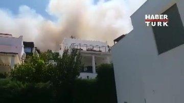 Bodrum'da ikinci yangın!