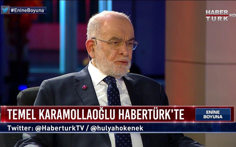 Enine Boyuna - 30 Temmuz 2021 (Saadet Partisi Lideri Temel Karamollaoğlu Habertürk'te)