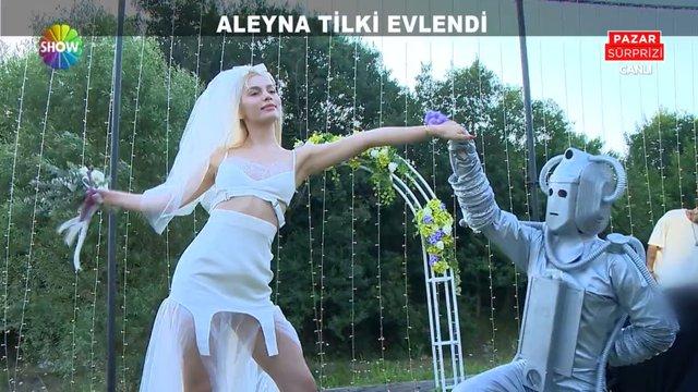 Aleyna Tilki evlendi!