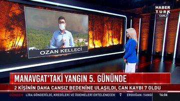 Manavgat'taki yangın 5. gününde