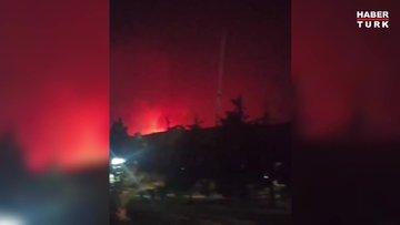 SON DAKİKA! Milas'taki yangın, Kemerköy Termik Santrali'ne ulaşmak üzere!