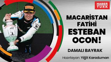 Macaristan fatihi Esteban Ocon! | DAMALI BAYRAK