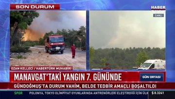 Manavgat'taki yangın 7. gününde