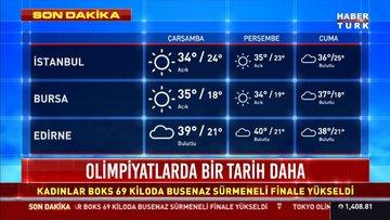 Meteoroloji'den 4 il için sağanak, Ege ve Akdeniz için kuvvetli rüzgar uyarısı