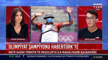 Olimpiyat şampiyonu Habertürk'te