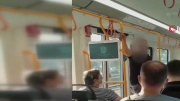 """Metroya maskesiz bindi, """"Özel harekâtçıyım"""" dedi"""