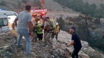 Muğla'da yangına müdahale eden 2 orman işçisi yaralandı