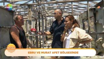 Ebru Akel ve Murat Güloğlu afet bölgesinde!
