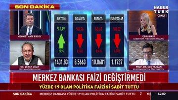 SON DAKİKA... Merkez Bankası faizi açıkladı!