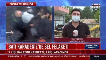 SON DURUM... Batı Karadeniz'de sel felaketi