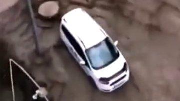 Kastamonu'daki sel felaketinin ilk görüntüleri ortaya çıktı