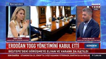 Erdoğan TOGG yönetimini kabul etti