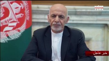 Afganistan Cumhurbaşkanı Gani: Vatanı savunmaya devam edeceğim