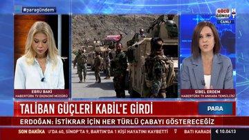 SON DURUM... Taliban güçleri Kabil'e girdi
