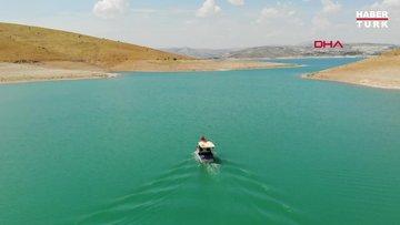 Keban Baraj Gölü'nde avladığı kerevitten ayda 100 bin lira kazanıyor