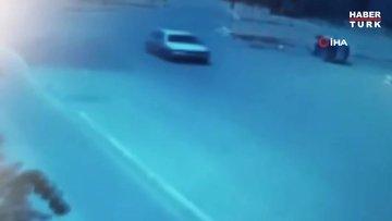 Antalya'da 15 yaşındaki çocuğun hayatını kaybettiği kaza güvenlik kamerasında