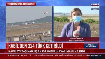 SON DURUM... Kabil'den 324 Türk getirildi