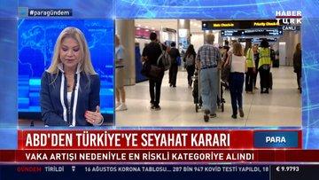 ABD'den Türkiye'ye seyahat kararı