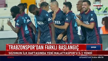 Trabzonspor'dan farklı başlangıç