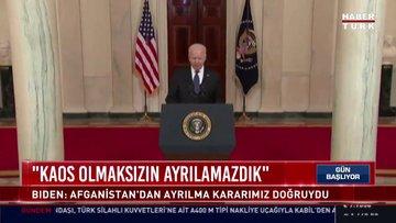 ABD Başkanı Joe Biden: Kaos olmaksızın ayrılamazdık