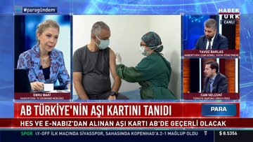 AB Türkiye'nin aşı kartını tanıdı