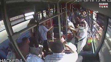 Halk otobüsü şoförü, dili boğazına kaçan çocuğu hastaneye böyle yetiştirdi