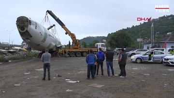 Trabzon'da pistten çıkan uçak pide salonu olacak