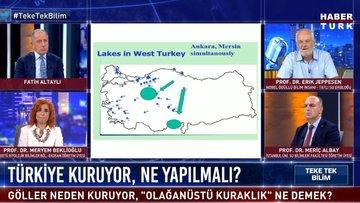 Türkiye'nin gölleri neden kuruyor?